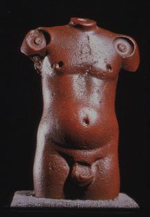 Harappa Male Nude Torso. Harappa, India. c. 3000 BCE